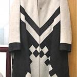 vintage chester weinberg coat and dress set