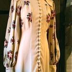 vintage collectible ossie clark poppies dress