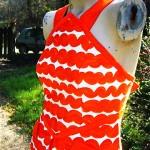 vintage courreges maxi dress