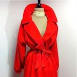 vintage halston for misty harbor raincoat