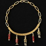 vintage karl lagerfeld necklace