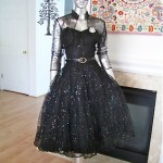 vintage 1959s tulle party dress