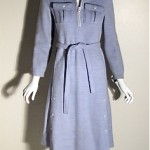 vintage 1960s courreges knit dress