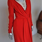vintage 1980s valentino night dress