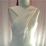 vintage bill blass wool crepe maxi dress