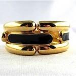 vintage givenchy enamel link bracelet