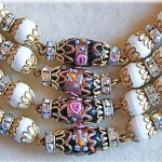 vintage hobe necklace and earrings 2
