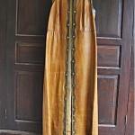 vintage leather maxi vest