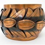 vintage rebajes modernist copper bracelet