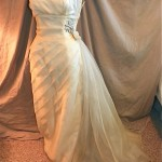 vintage 1950s emma domb evening wedding gown