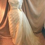 vintage 1950s emma domb evening wedding gown