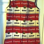 vintage 1960s andy warhol campbell soup pop art paper dress
