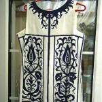 vintage 1960s horrockses cotton shift dress