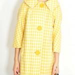 vintage 1960s houndstooth coat