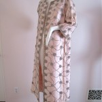 vintage 1960s lilli rubin beaded evening coat