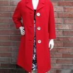 vintage 1960s wool mod coat