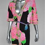 vintage 1970s leonard jersey robe