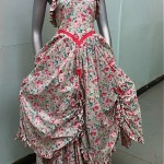 vintage 1980s laura ashley shepherdess dress