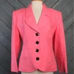 vintage 1980s ysl rive gauche linen blazer