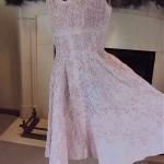 vintage adele simpson trapunto dress