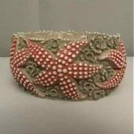 vintage celluloid starfish bracelet