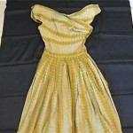 vintage claire mccardell gingham print dress