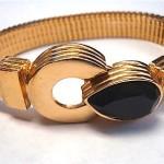 vintage givenchy onyx bracelet