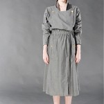 vintage late 1980s early 1990s chanel convertible trench dress