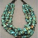 vintage navajo royston turquoise necklace