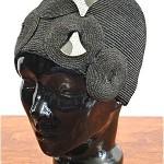 vintage paris flapper hat