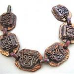 vintage rebajes early copper bracelet