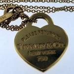 vintage tiffany heart necklace