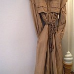 vintage valentino raincoat with detachable cape