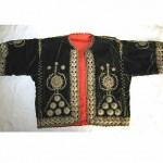 vintage 1940s moroccan embroidered velvet jacket