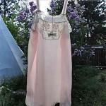 vintage 1940s silk crepe lingerie romper unworn