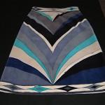 vintage 1960s pucci velvet skirt