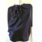 vintage 1970s janice wainwright silk blouse