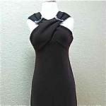 vintage bill blass wool gown