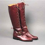 vintage lace up equestrian riding boots