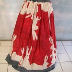 vintage michael vollbracht silk skirt