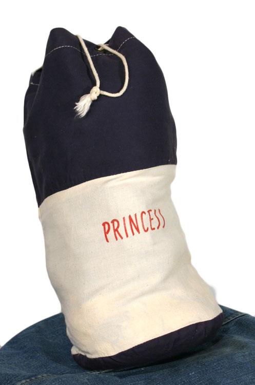 vintage 1950s beach bag