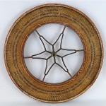 antique 1920s carnival gambling wheel