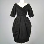 vintage 1950s christian dior cocktail dress