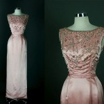 vintage 1950s rappi bonwit teller beaded evening gown