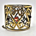 vintage 1970s givenchy bracelet