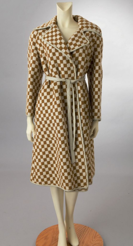 vintage bonnie cashin tweed coat