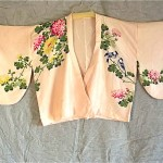 vintage 1930s handpainted silk kimono jacket
