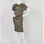 vintage 1970s missoni wool knit wrap dress