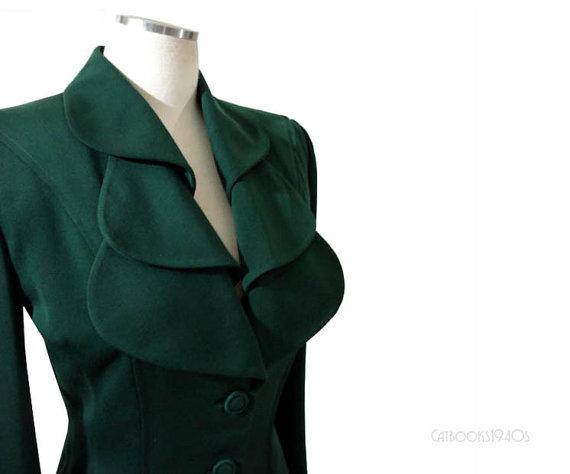 vintage `940s lilli ann jacket