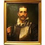 antique 1880s archibald collins oil painting